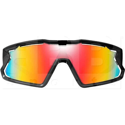 ZZ-EY-UV-BREAK-BK-RD Zol Breakaway Sunglasses Black w/ Red Lens