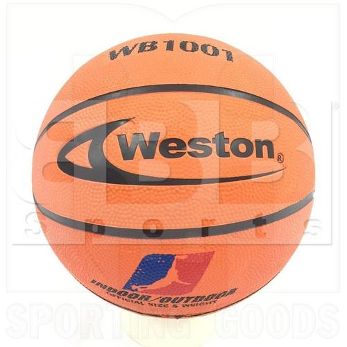 WB1001-O Weston Balón de Baloncesto Naranja 29.5