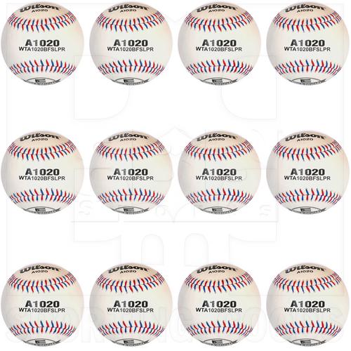 A1020 Wilson Docena de Bolas de Beisbol A1020 Campeonato Clase A / Serie de Grandes Ligas