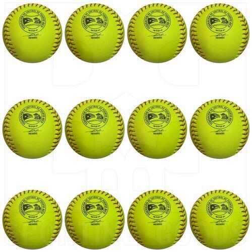 "A9016 Wilson FSPR A9016 RS Softballs Raised Seam 12"" Dozen"