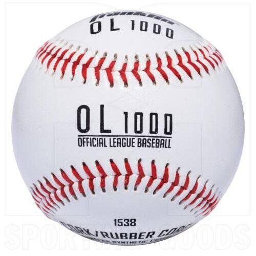 "1538 Franklin Bola Oficial de Béisbol OL1000 de Práctica Cubierta Sintética con Corcho/Núcleo de Goma  9 """