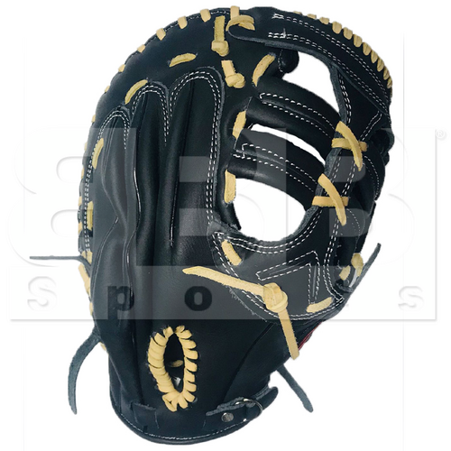 "STFB-BK Tamanaco Leather Baseball/Softball First Base Mitt Glove 13"" RHT"