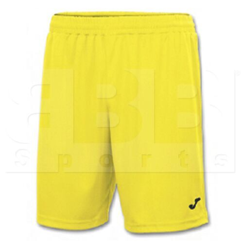 100053.900 Joma Short Nobel Polyester Dry MX Yellow