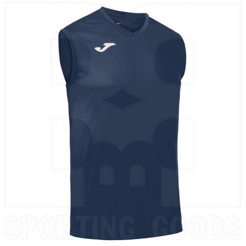 100436.331 Joma Camisa sin Mangas Combi Azul Marino