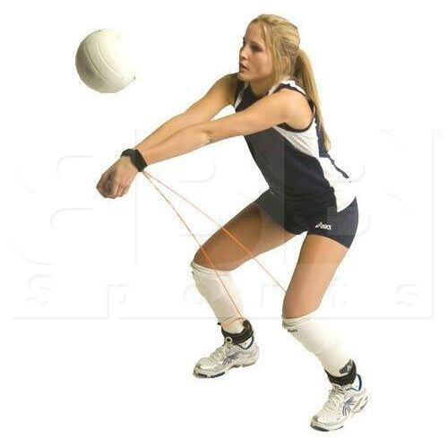 PASSRITE Tandem Cordón Elástico Ajustable para Entrenamiento de Voleibol