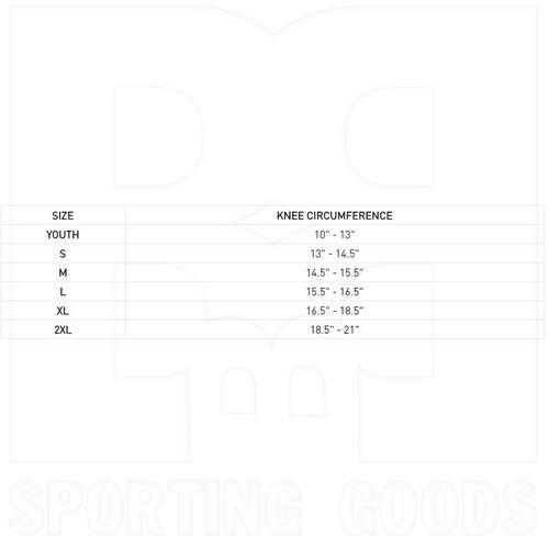 6448-BK-XL McDavid Rodillera hexagonales Elite negro Par
