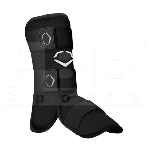 V1112-BK EvoShield SRZ-1 Batter's Leg Guard Black