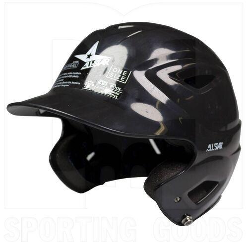 BH3000-BK All-Star Casco de Bateo de Béisbol Juvenil System 7 Negro