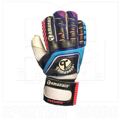 CAZADORBBP Tamanaco Goalkeeper Glove Fingersave Black/ Blue/ Pink