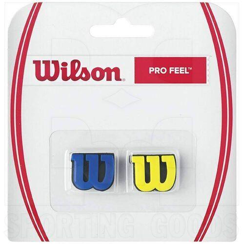 Z5377 Wilson Amortiguador de Vibración para Raqueta de tenis Pro Royal/Amarillo