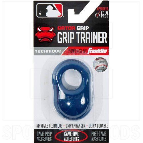 24052C3 Franklin Sports MLB Gator Baseball Sting Vibration Reducer Shok Sorb Bat Grip Navy