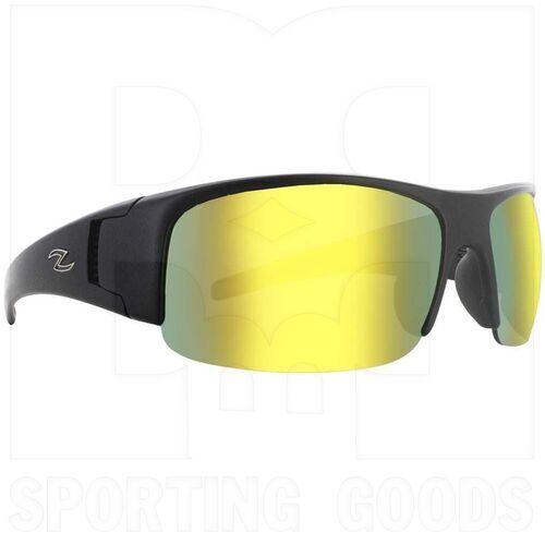 ZZ-EY-UV-PAVE-BK-ORG Zol Pave UV Protection Sunglasses Black w/ Orange Lens