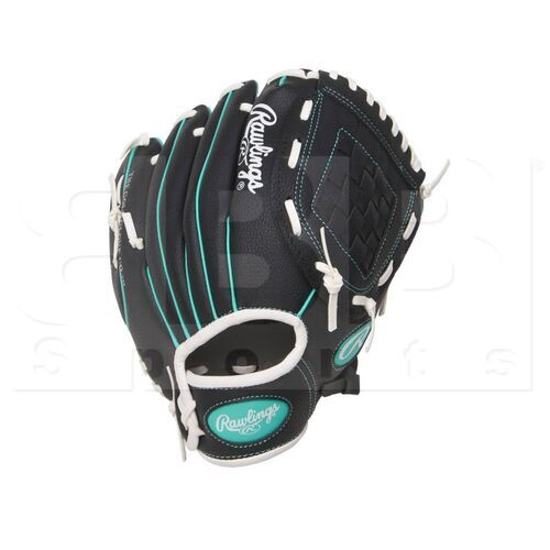 """PL10BMT Rawlings Players Glove 10"""" Youth Black"""