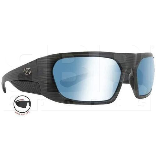 ZZ-EY-UV-ANK-BKS-BL Zol Ankor Sunglasses Black Stripe w/ Blue