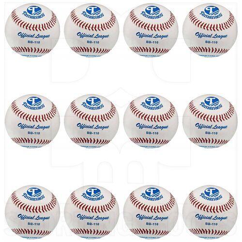 """BB-110 Tamanaco 9"""" Cushion Cork Leather Cover Official League Baseballs 5oz Dozen"""
