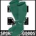 400054.450.S Joma Medias Classic 2 Verde Oscuro