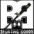 GAMER-34 Marucci Gamer Hard Maple Baseball Bat Black